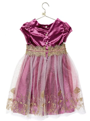 Jasmine Damson Velvet Party Dress- Princess - Disney Boutique