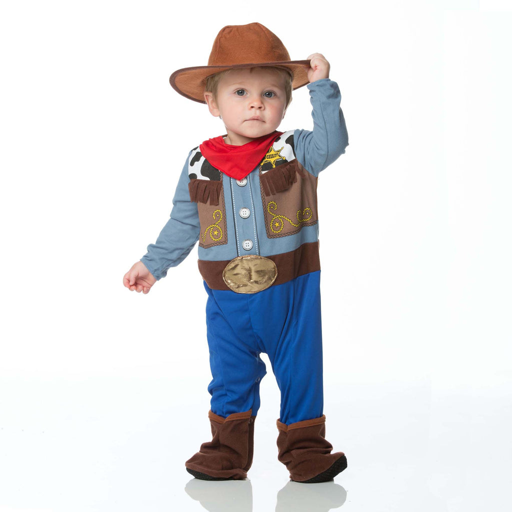 Cowboy Baby Fancy Dress Costume , Baby Costume - In Character, Ayshea Elliott  - 2