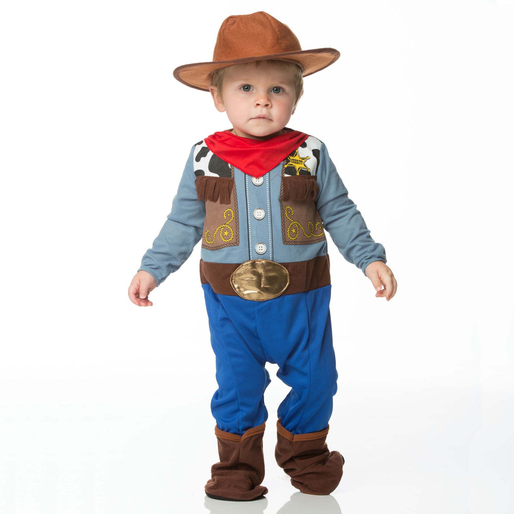 Cowboy Baby Fancy Dress Costume , Baby Costume - In Character, Ayshea Elliott  - 1