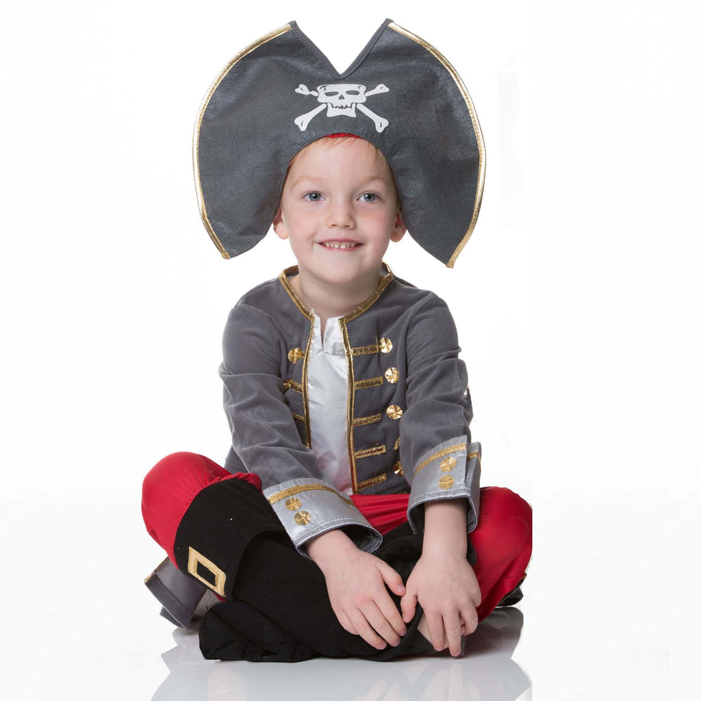 Children's Captain Pirate Dress Up , Children's Costume - Travis Designs, Ayshea Elliott  - 1
