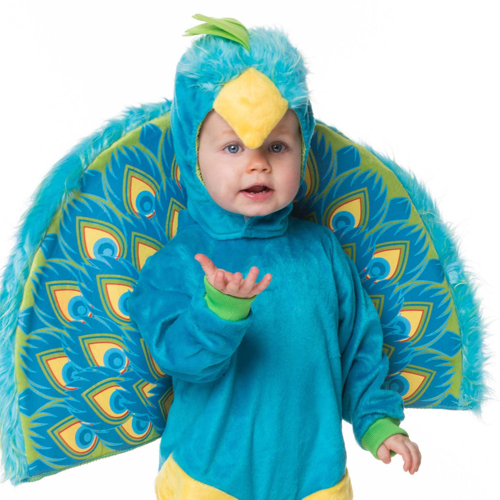 Peacock Baby Fancy Dress Costume , Baby Costume - In Character, Ayshea Elliott  - 2