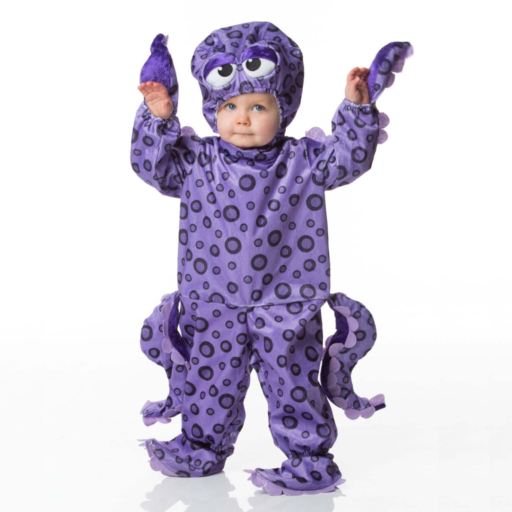 Octopus Baby Fancy Dress Costume , Baby Costume - In Character, Ayshea Elliott  - 1