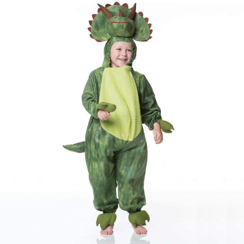 Children's Triceratops Dress Up , Dinosaur Costume, Children's Costume - Time to Dress Up, Ayshea Elliott - 10
