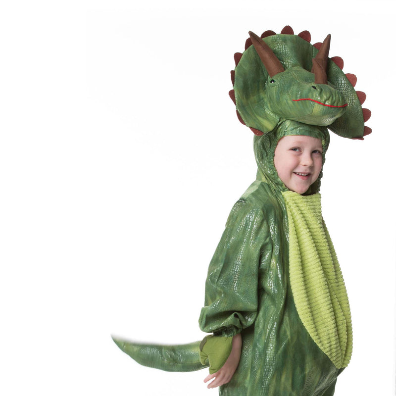 Children's Triceratops Dress Up , Dinosaur Costume, Children's Costume, Dinosaur Costume, - Time to Dress Up, Ayshea Elliott - 4