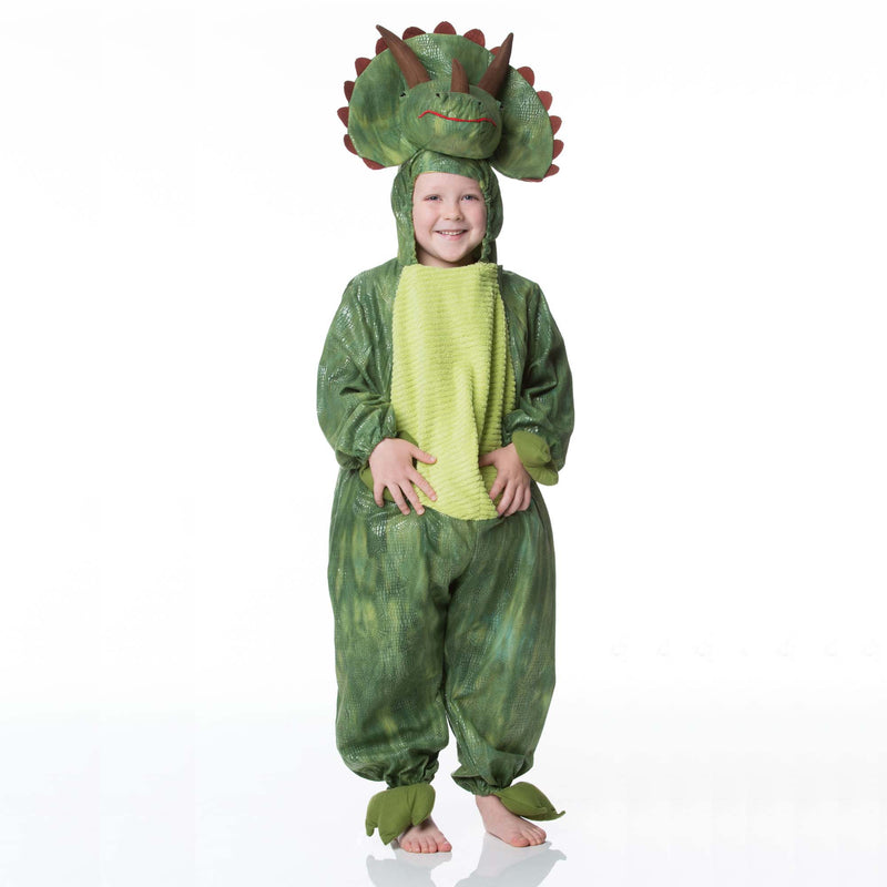 Children's Triceratops Dress Up , Dinosaur Costume,  Children's Costume - Time to Dress Up, Ayshea Elliott - 11