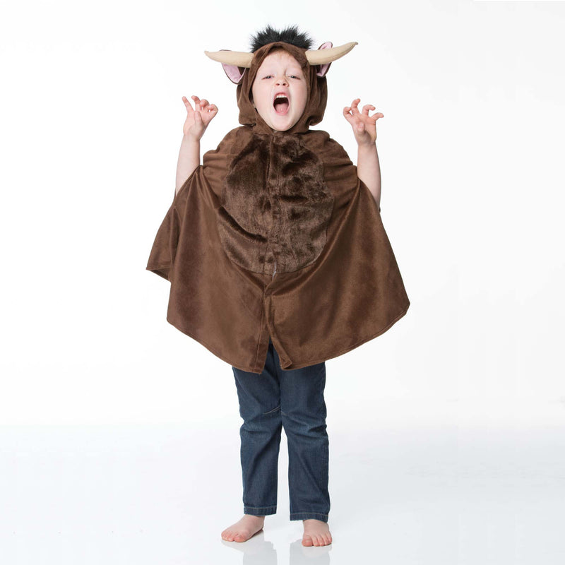 Children's Brown Monster Dress Up , Children's Costume - Travis Designs, Ayshea Elliott  - 2