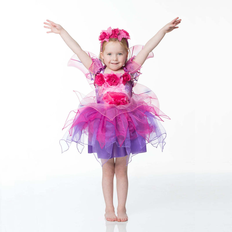 Children's Fuchsia Fairy Dress Up , Children's Costume - Travis Designs, Ayshea Elliott  - 3