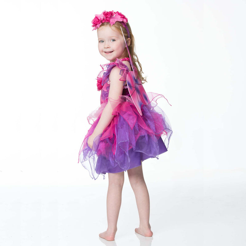 Children's Fuchsia Fairy Dress Up , Children's Costume - Travis Designs, Ayshea Elliott  - 5