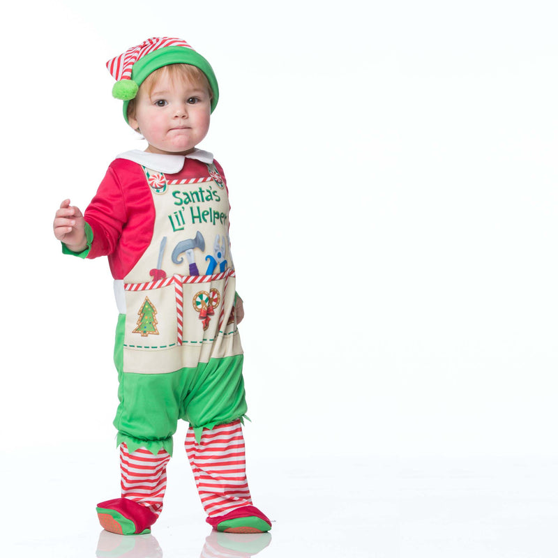 Santa's Elf Baby Fancy Dress Costume , Baby Costume - In Character, Ayshea Elliott  - 2