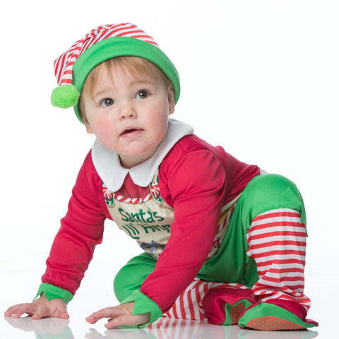 Santa's Elf Baby Fancy Dress Costume