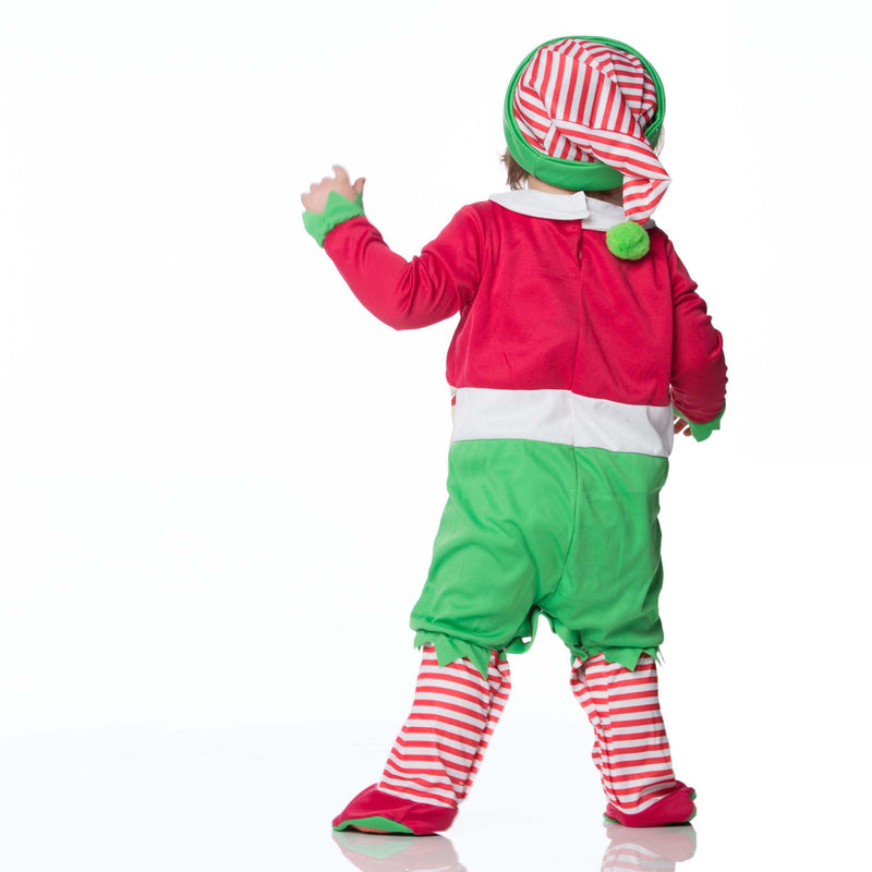 Santa's Elf Baby Fancy Dress Costume , Baby Costume - In Character, Ayshea Elliott  - 3