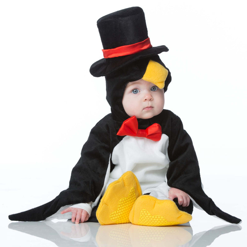 Penguin Baby Fancy Dress Costume , Baby Costume - In Character, Ayshea Elliott  - 3