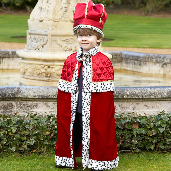 Children's King With Crown Dress Up Costume , Children's Costume - Children's Costume, Ayshea Elliott  - 3