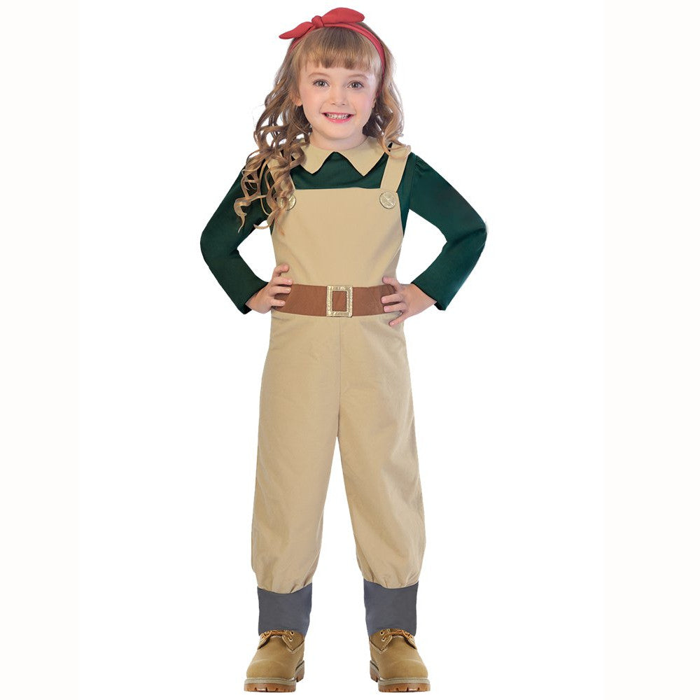 WW2 Landgirl  Fancy Dress Costume