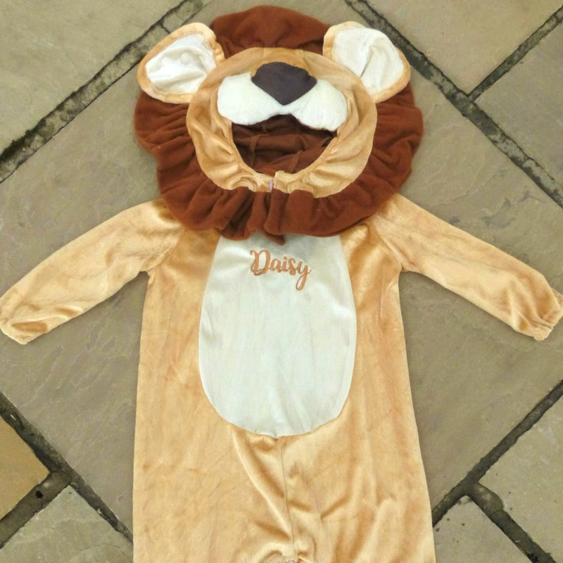 Personalised Baby Lion Costume - Lovable Lion- Baby Gift-Time to Dress Up - 2