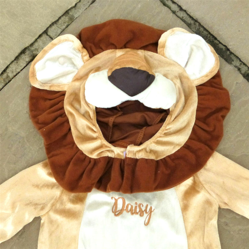 Personalised Baby Lion Costume - Lovable Lion- Baby Gift-Time to Dress Up-3