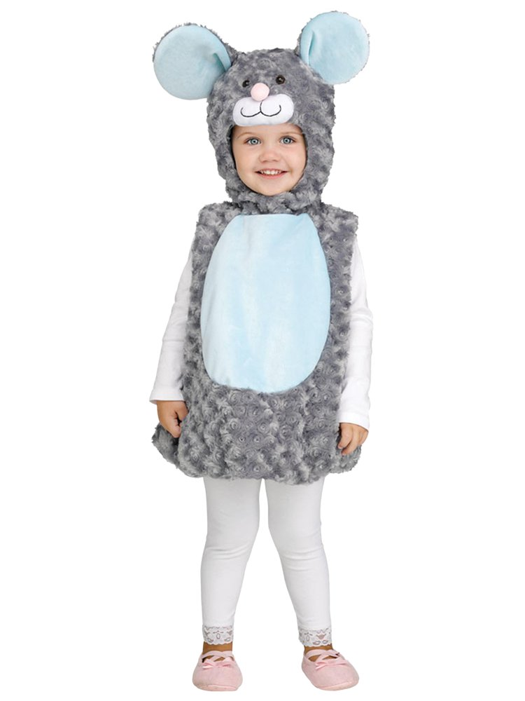 Little Grey Mouse Toddler Costume