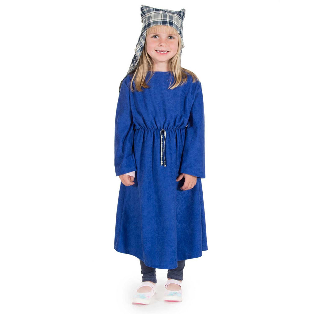 Children's Mary Nativity Dress Up Costume , Nativity Costume -Children's Costume - Time to Dress Up, Ayshea Elliott - 1