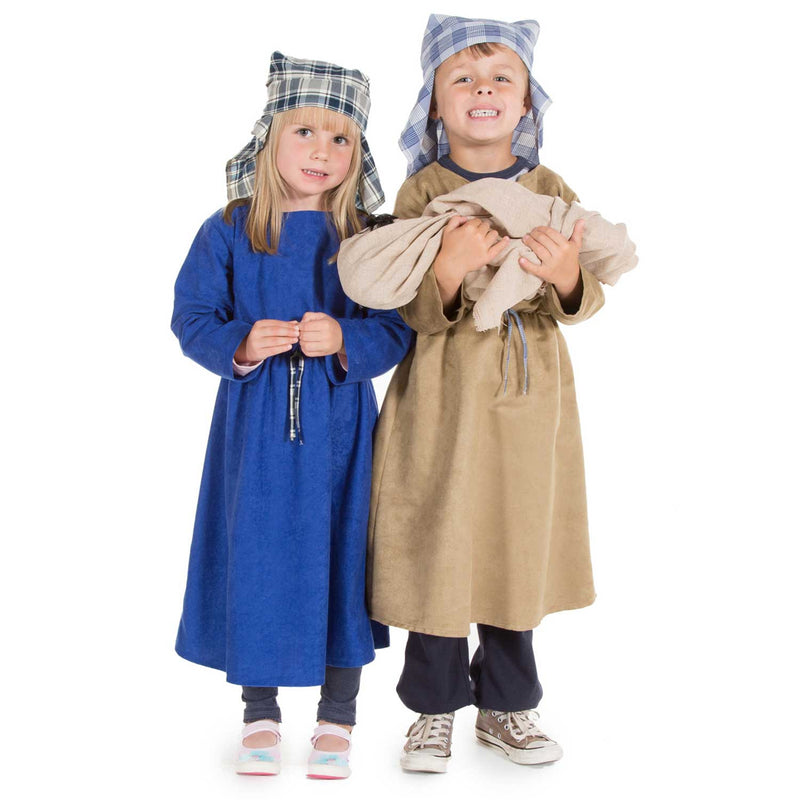 Children's Mary Nativity Dress Up Costume , Nativity Costume -Children's Costume - Time to Dress Up, Ayshea Elliott - 2