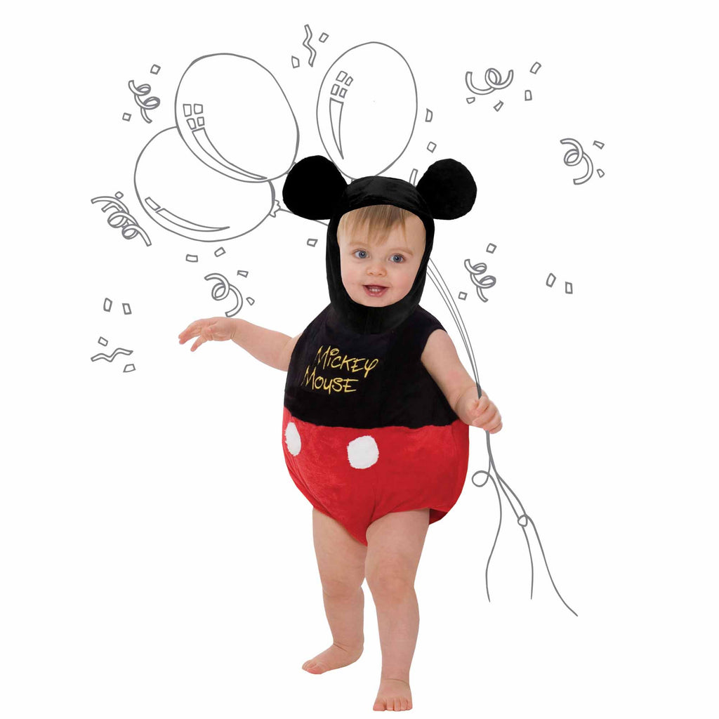 Mickey Mouse Baby Fancy Dress Costume - Official Disney , Baby Costume - Disney Baby, Ayshea Elliott  - 1