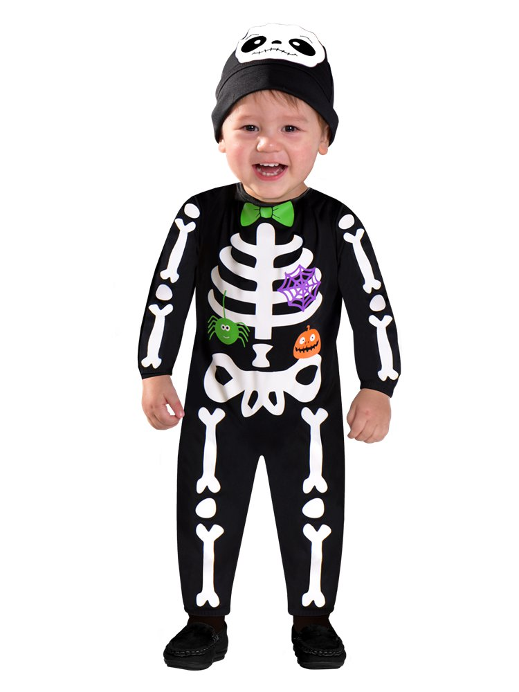 Little Bitty Bones Skeleton Costume- Toddler