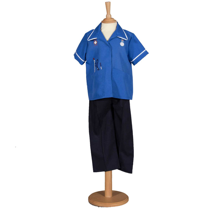 Children's Modern Nurse Costume , Children's Costume - Pretend to Bee, Ayshea Elliott - 1