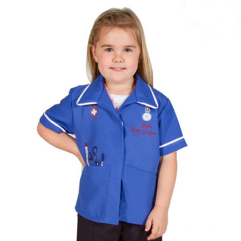 Personalised Modern Nurse Costume