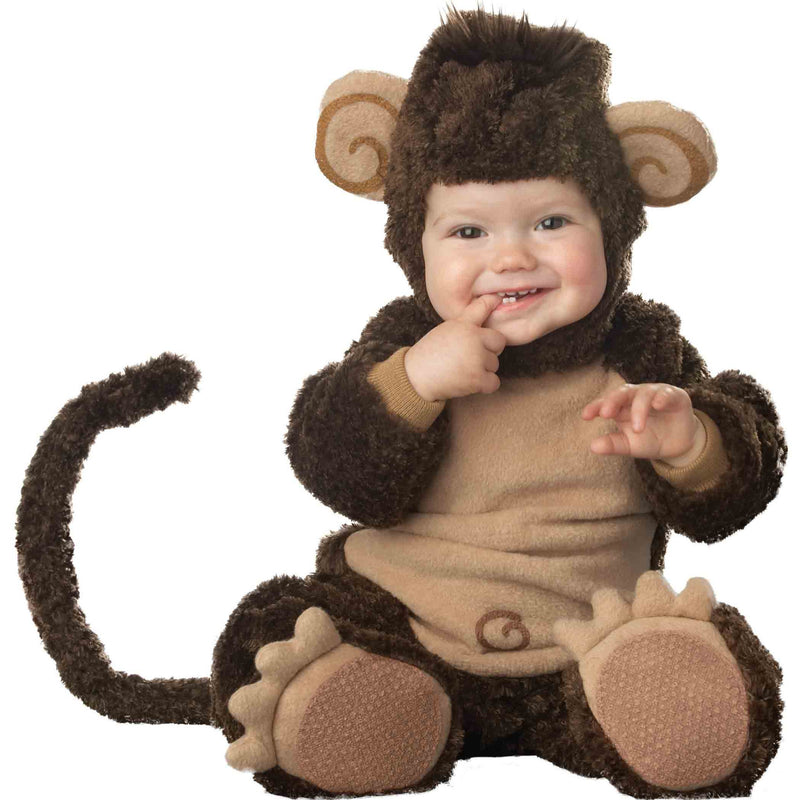 Cheeky Monkey Baby Fancy Dress Costume , Baby Costume - In Character, Ayshea Elliott  - 5