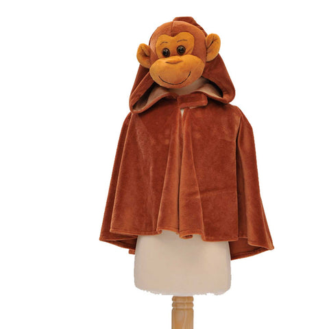 Children's Monkey Fancy Dress Cape