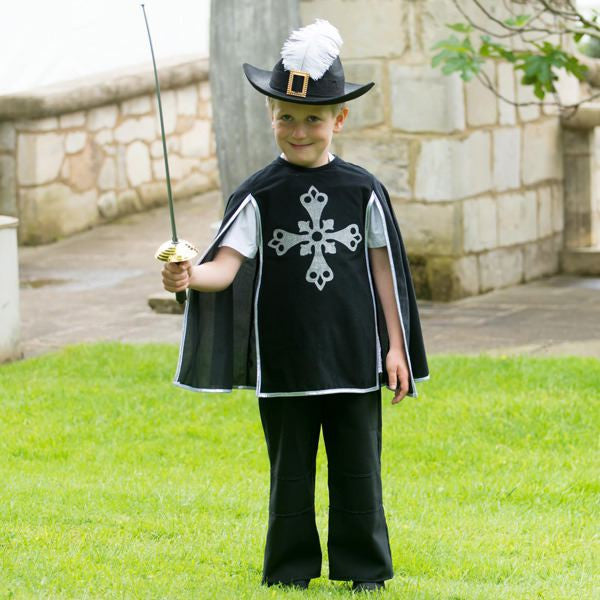 Children's Musketeer Dress Up , Children's Costume - Time to Dress Up, Ayshea Elliott