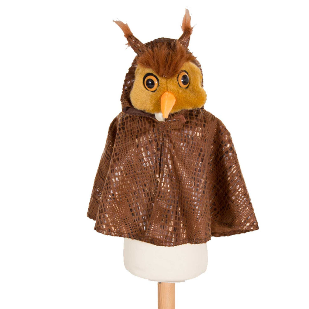 Children's Owl Fancy Dress Cape , Owl Costume, Children's Costume - Pretend to Bee, Ayshea Elliott - 1