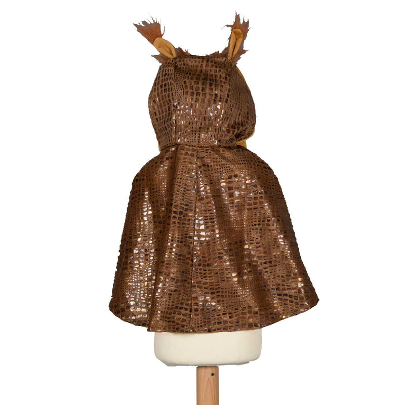 Children's Owl Fancy Dress Cape , Owl Costume, Children's Costume - Pretend to Bee, Ayshea Elliott - 3