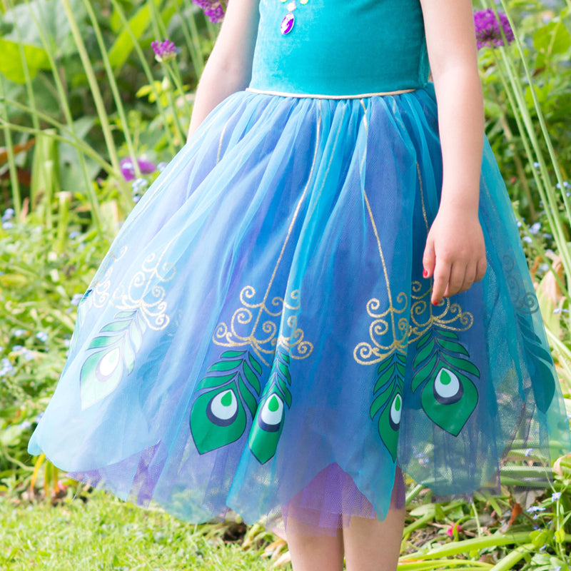 Peacock Fairy Dress Up , Children's Costume - Travis Designs