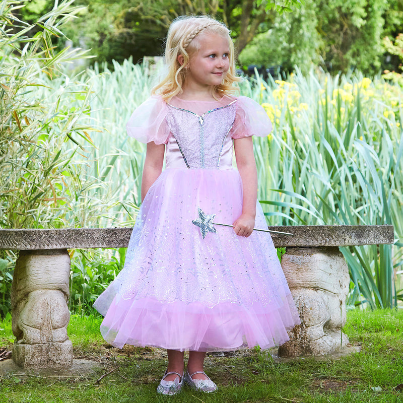 Pink Glitter Princess Dress, Children's Costume - Travis Designs
