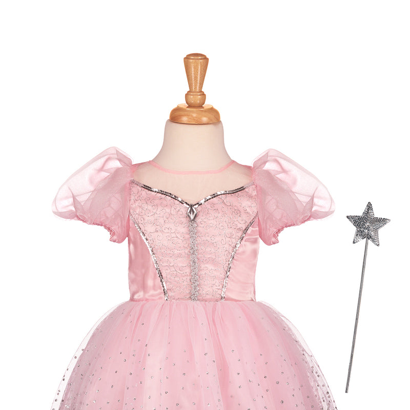 Pink Glitter Princess Dress, Children's Costume - Travis Designs -2