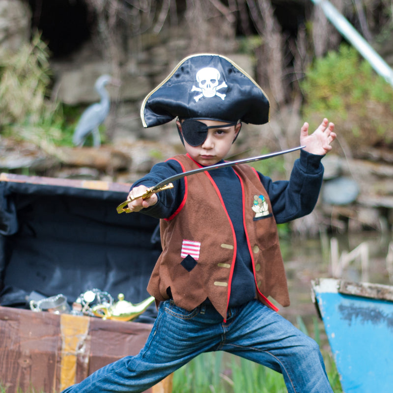 Kids Pirate Costume , Children's Costume - Time to Dress Up -3