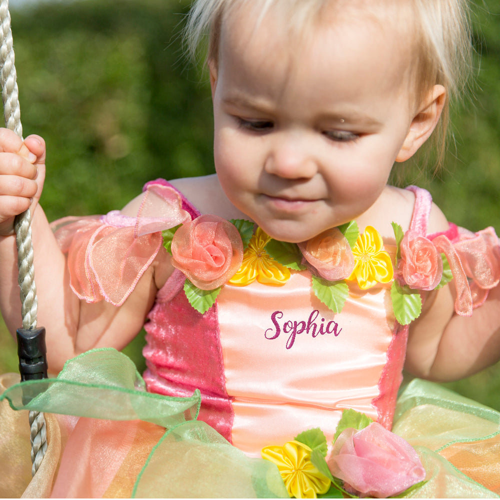 Children's Peach Melba Fairy Dress-Personalised,, Children's Costume - Time to Dress Up