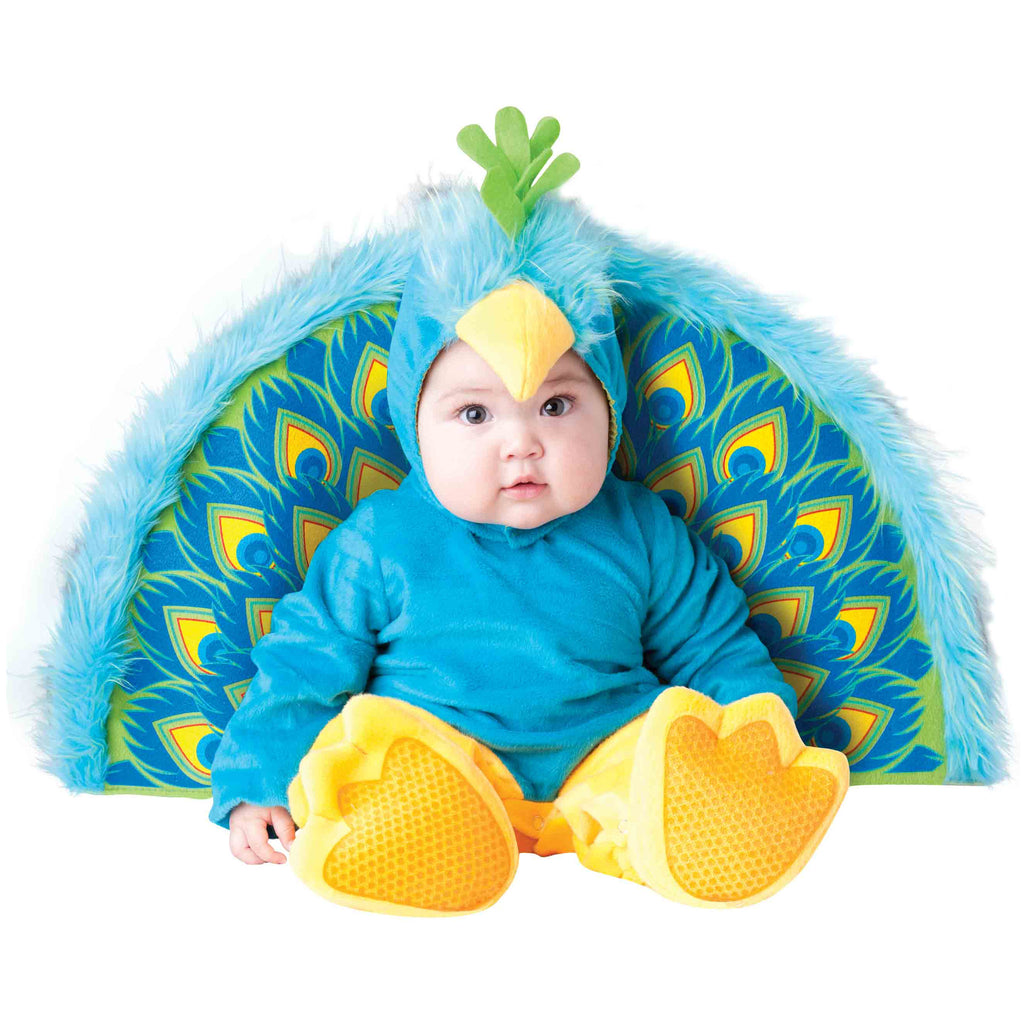 Peacock Baby Fancy Dress Costume , Baby Costume - In Character, Ayshea Elliott  - 1