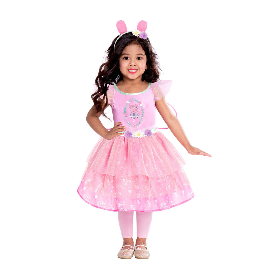 Peppa Pig Fairy Dress -Toddler and Child Costume