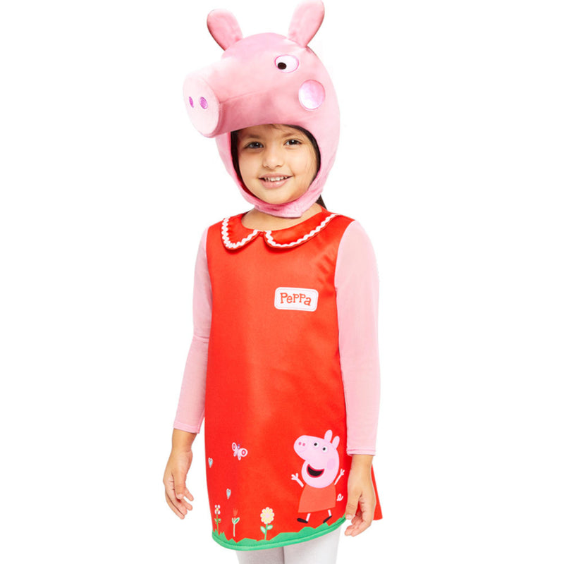 Peppa Pig Dress with Hood