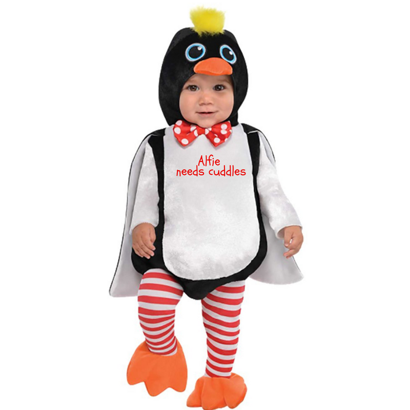 Baby Penguin Costume -Personalised - Waddles the Penguin