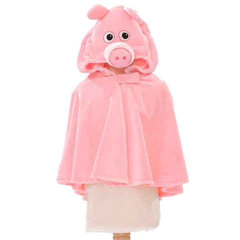 Children's Pig Fancy Dress Cape