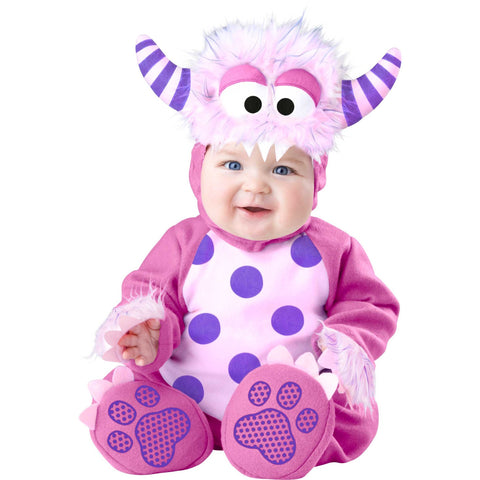 Pink Monster Baby Fancy Dress Costume