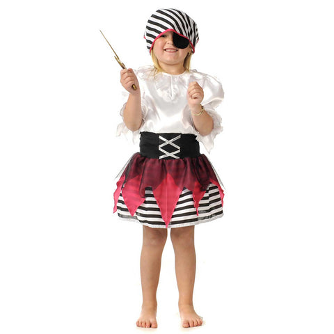 Children's Pirate Costume With Dress