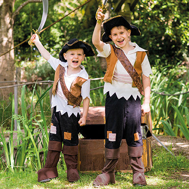 Pirate Pete Dress Up Costume , Children's Costume - Travis Designs, Ayshea Elliott