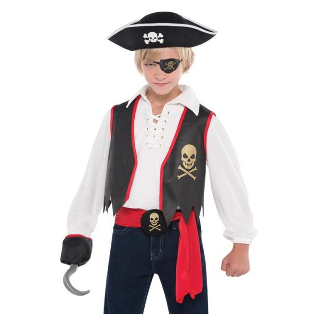 Children's Pirate Accessory Dress Up Kit