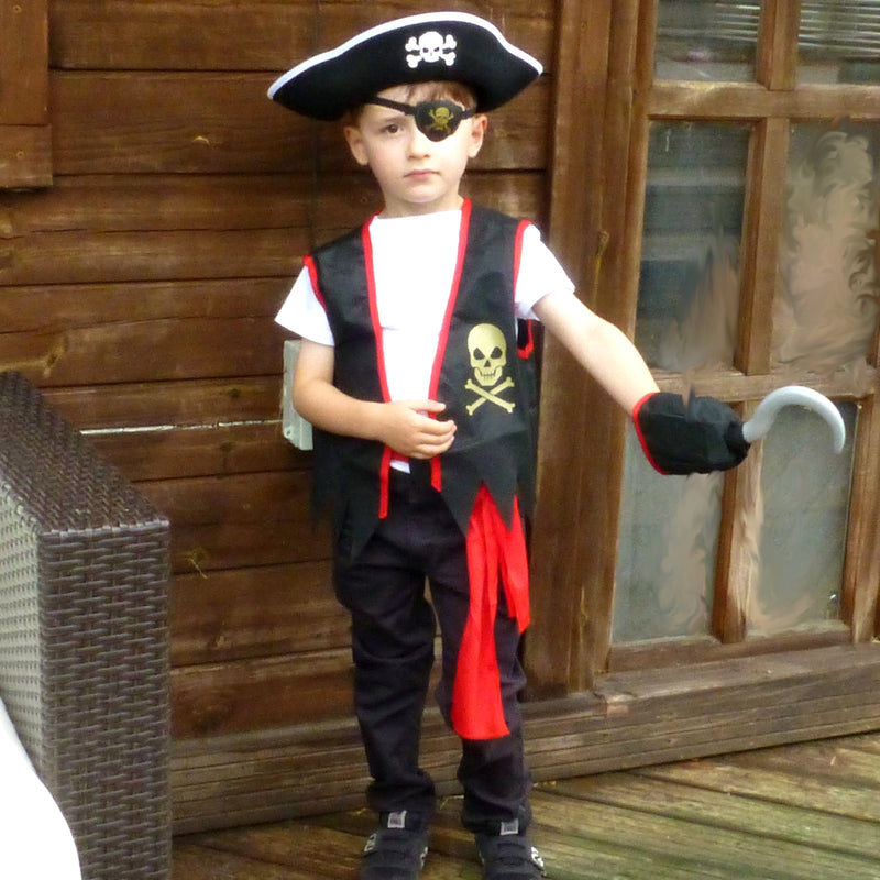 Pirate Costume -Accessory Set -Children's Costume-Time to Dress Up -1