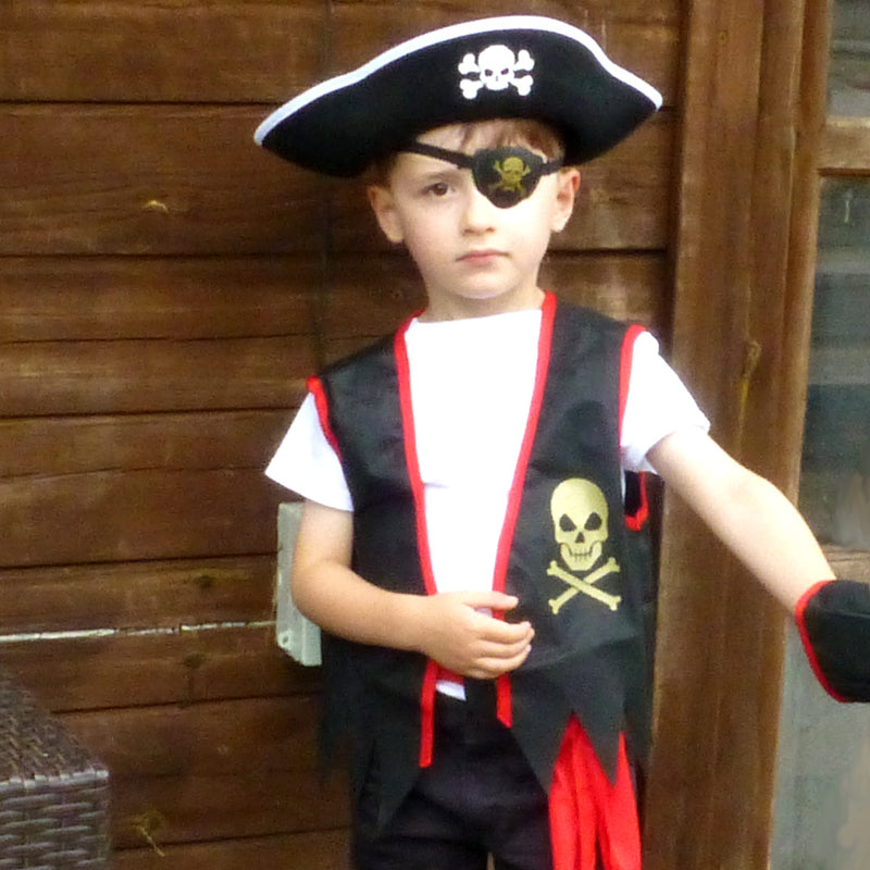 Pirate Costume -Accessory Set -Children's Costume-Time to Dress Up -2