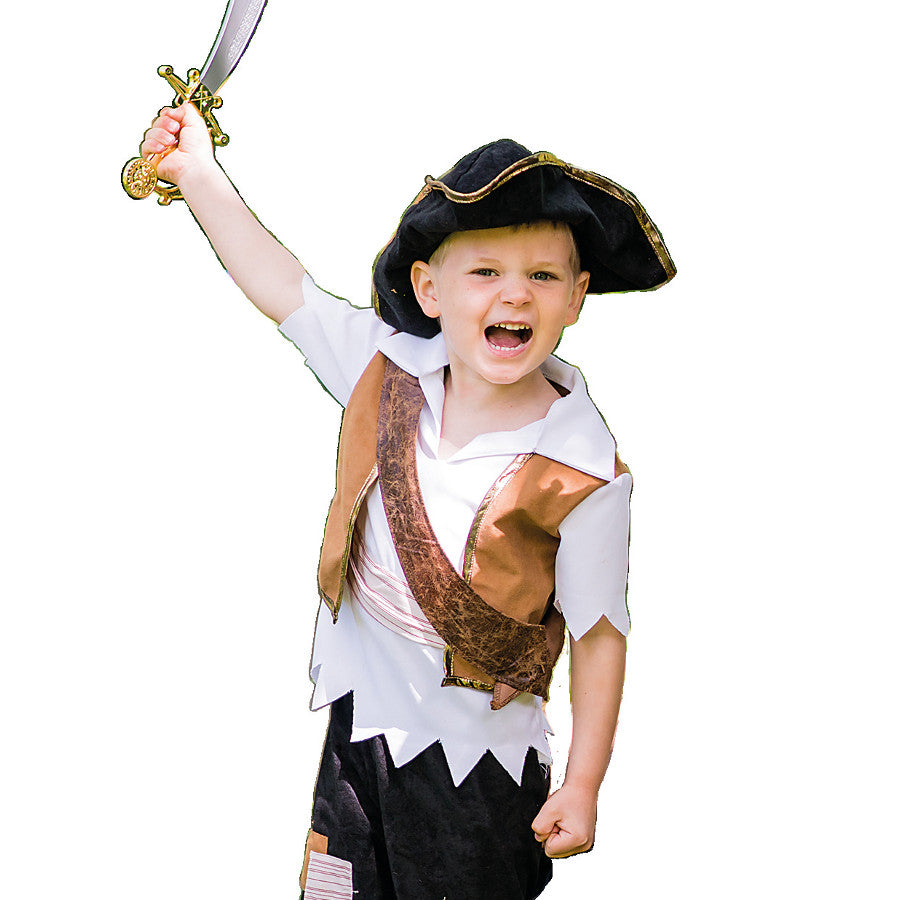 Pirate Pete Dress Up Costume , Children's Costume - Travis Designs