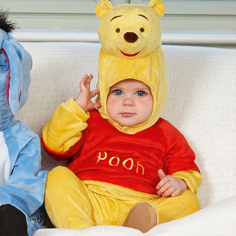 Winnie the Pooh Baby Costume with Moulded Hood
